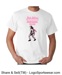 TTSA Special Commemorative Inaugural Season Lady Outlaws Fantasy Football T-Shirt Design Zoom
