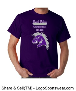 TTSA American Division Rough Riders T-Shirt Design Zoom