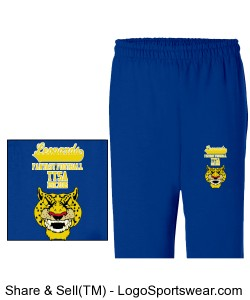 TTSA Amazon Division Leopards Team Sweatpants Design Zoom