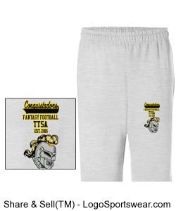 TTSA European Division Conquistadors Sweatpants Design Zoom