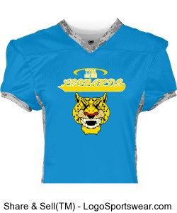 TTSA Amazon Division Leopards Team Jersey Design Zoom