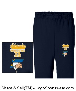 TTSA Jolly Roger Division Admirals Team Sweatpants Design Zoom