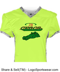TTSA Amazon Division Crocs Team Jersey Design Zoom